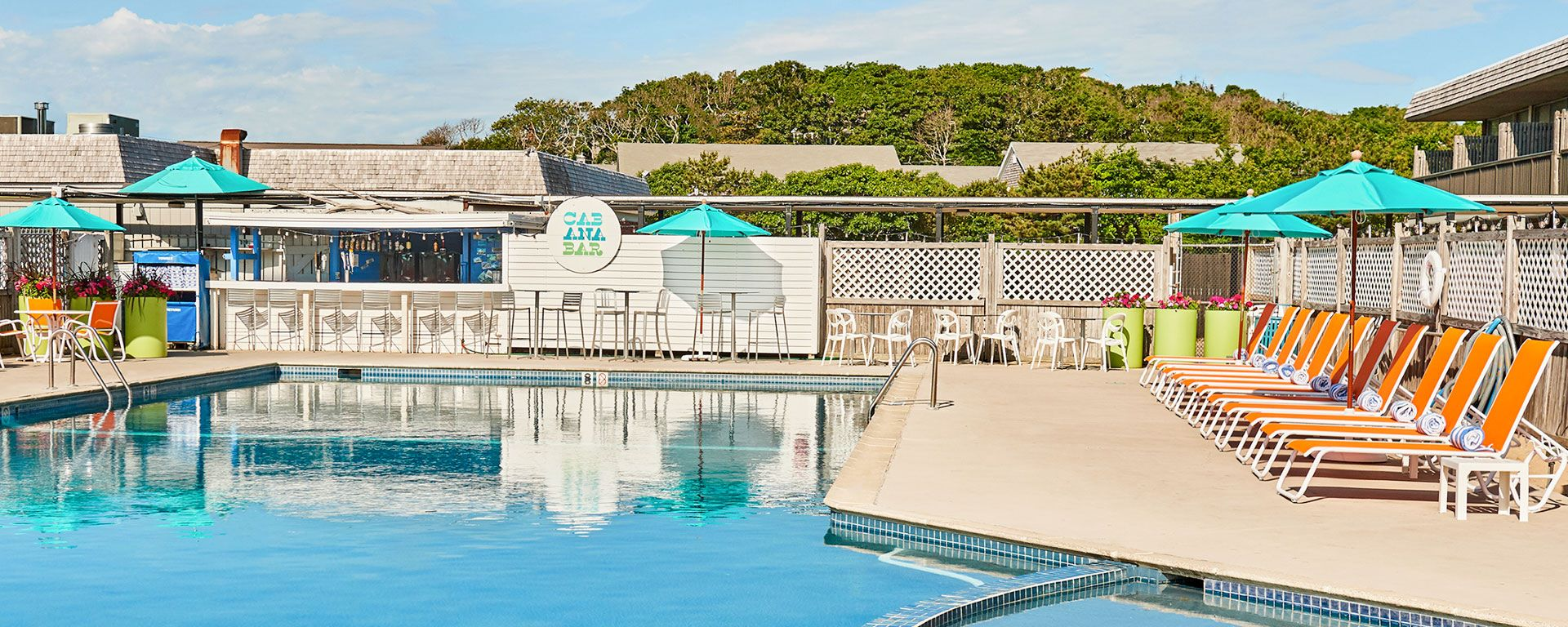 The Cabana Bar & Grill at Harbor Hotel Provincetown